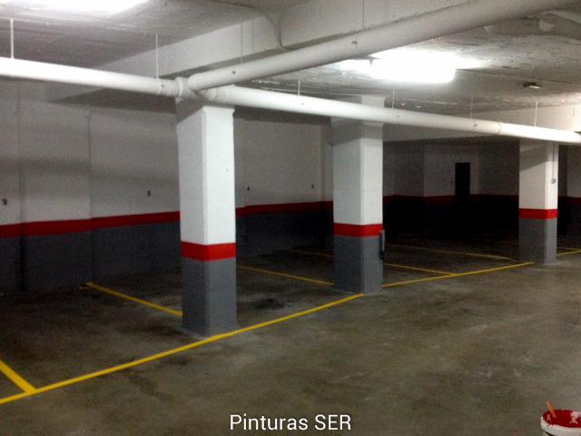 Presupuesto pintura parking rojo gris pinturas - Pintura para parking ...