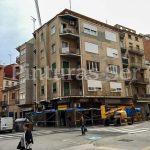 fachada edificio lleida antes pinturas ser